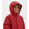 Long Toaster Parka Deep Red