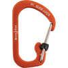 SlideLock Aluminum Carabiner Orange