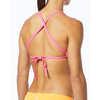 Haut de bikini Solids Pacific Noir/Pays des merveilles/Orange
