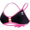 Haut de bikini Solids Pacific Black/Wonderland/Orange