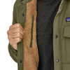 Isthmus Quilted Shirt Jacket Industrial Green