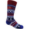 Merino Ski Socks 2 Pack Royal/Red