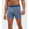 "All Day Essentials Boxer Briefs 5"" French Navy Heather"