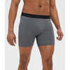 "All Day Essentials Boxer Briefs 5"" Black Heather"