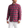 Thermocore Long Sleeve Shirt Cardinal Red Toast Plaid