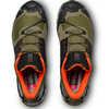 XA Wild Trail Running Shoes Burnt Olive/Black/Exotic Orange
