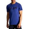 Distance Graphic T-shirt Cobalt/Run Stripe