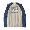 Line Logo Ridge Lightweight Crew Sweatshirt Pumice