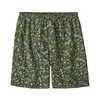 "Baggies 7"" Shorts Alligators and Bullfrogs: Kale Green"
