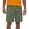 """Baggies 7"""" Shorts Alligators and Bullfrogs: Kale Green"""
