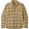Fjord Lightweight Flannel Shirt Grange: Surfboard Yellow