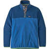 Micro D Snap-T Pullover Bayou Blue