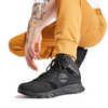 Garrison Trail Waterproof Mid Hiking Boots Black Suede