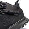 Garrison Trail Waterproof Mid Hiking Boots Black Suede