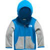 Glacier Full Zip Hoodie Clear Lake Blue