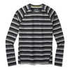 Merino 150 Baselayer Long Sleeve Crew Iron Stripe