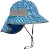 Play Hat Blue Electric Stripe