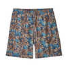 "Baggies 7"" Shorts Hevea Leaves: Superior Blue"