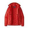 Manteau à capuchon Micro Puff Catalan Coral