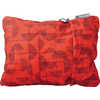 Compressible Large Pillow Cranberry Print