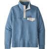 Chandail Snap-T en coton piqué Pigeon Blue