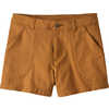 Short Stand Up Umber Brown