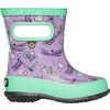 Skipper Rain Boots Lavender Multi Dragonfly