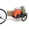 Flatbed Cargo Trailer Black