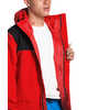 Cypress Jacket Fiery Red/TNF Black
