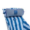 Beach Chair Blue Stripe