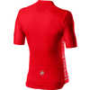 Entrata V Short Sleeve Jersey Fiery Red