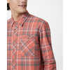 Benson Flannel Shirt Ridge Plaid-Burnt Sienna Orange