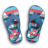 Supreem Flip Sandals Navy/Red