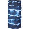 Foulard tubulaire Multi Blue Tie Dye