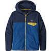 Micro D Snap T Jacket Superior Blue