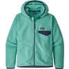 Micro D Snap T Jacket Light Beryl Green
