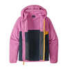 Micro D Snap T Jacket New Navy/Marble Pink