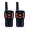 ACXT145 26km Compact FRS Walkie Talkie Black/Orange