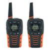 Émetteurs-récepteurs portatifs NOAA FRS 56 km Orange/Noir