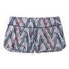 Merino Sport Lined Shorts Canyon Rose Zig Zag Print
