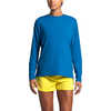Workout Long Sleeve Clear Lake Blue