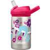 Eddy+ Kids Stainless Steel Bottle 350ml Flowerchild Sloth
