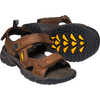 Targhee III Open Toe Sandals Bison/Mulch