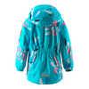 Reimatec Anise Jacket Light Turquoise Floral