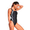 Quantum Fusion Splice One Piece Swimsuit Black