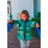 Schiff Reimatec Jacket Dark Green Abstract