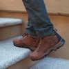 Mt Maddsen Chukka Shoes Dark Brown Full Grain
