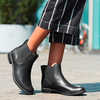 Magby Low Chelsea Boots Black