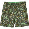 Short Baggies Alligators et grenouilles : vert kale