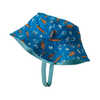 Sun Bucket Hat Fishies in the Swamp: Bayou Blue